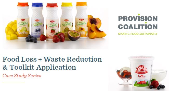 Food Loss + Waste Reduction & Toolkit, sustainability, case study