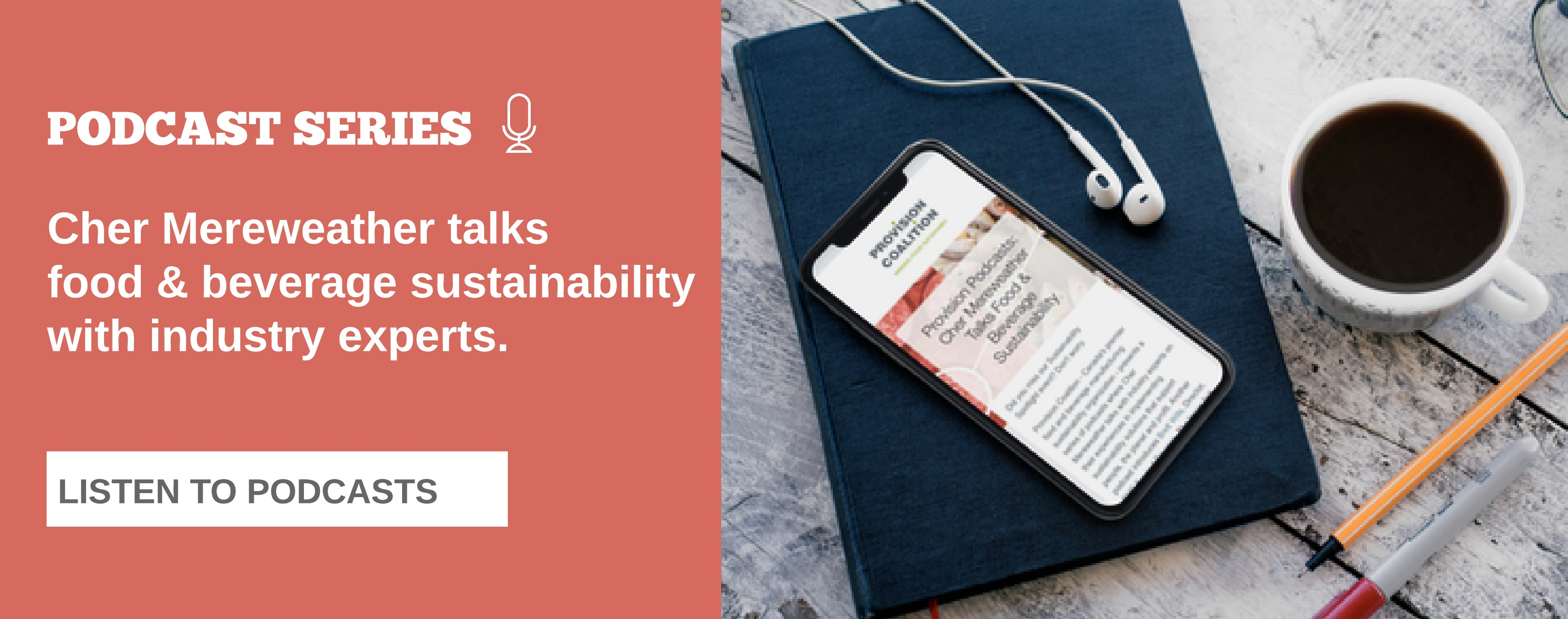 Listen to Food & Beverage Sustainability Podcasts
