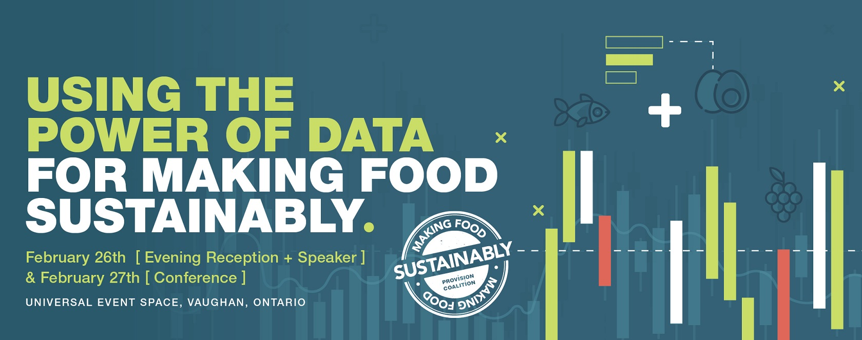 Join us for our 2019 fourth Annual Making Food Sustainably Conference