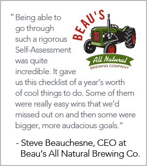Provision Coalition, Sustainability, Food and Beverage Manufacturing, Sustainability Performance, Food and Beverage Industry, Beau's, Beer, All Natural Brewing Company